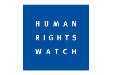 Human rights watch logga